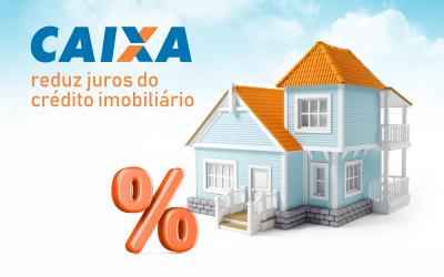 Em resposta a bancos privados a Caixa reduz juros do crédito imobiliário